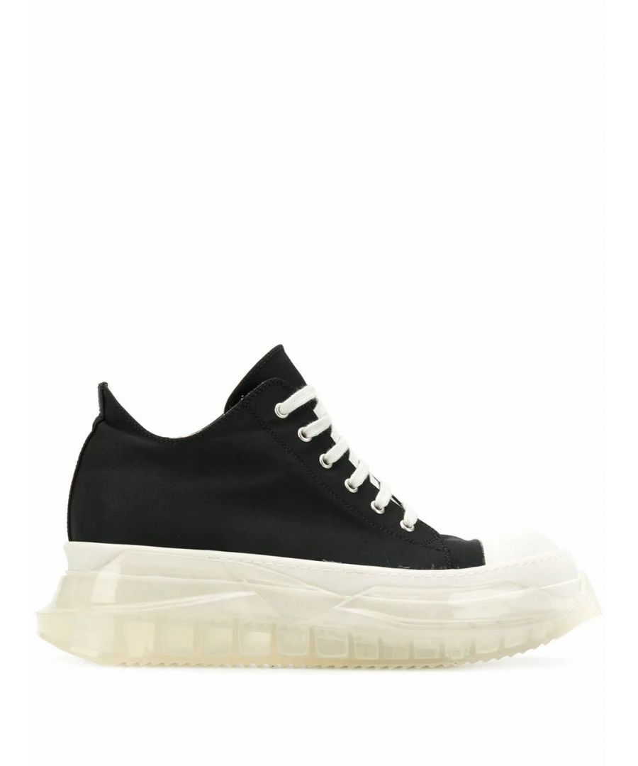 Image for DRKSHDW BY RICK OWENS MEN'S DU20S5819MU0910 BLACK FABRIC SNEAKERS