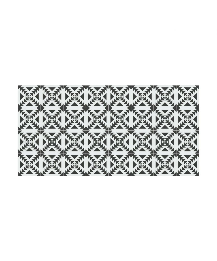 Image for WFS6023 - Scandinavian Geometric Pattern Floor Stickers 120cm x 60 cm