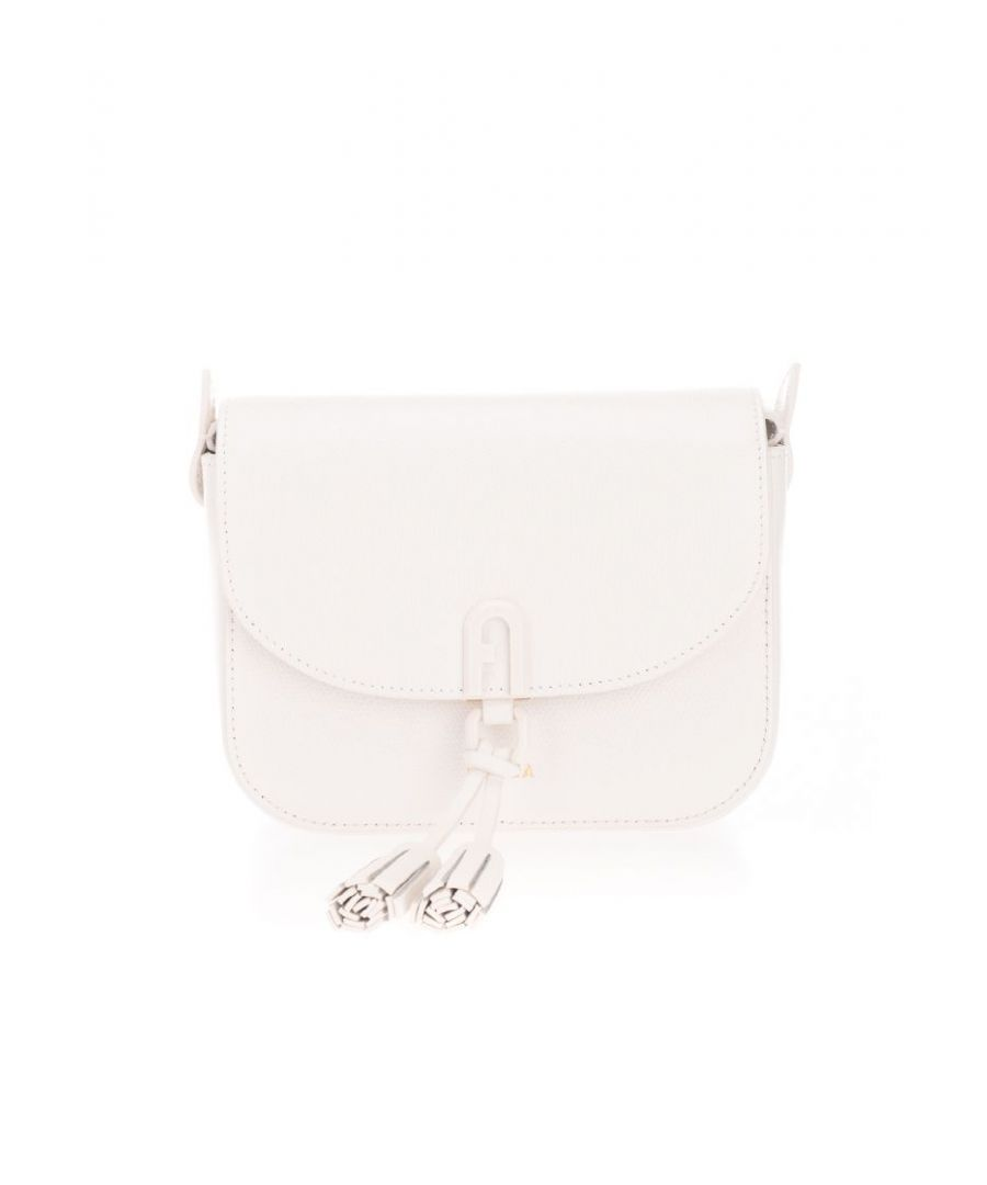 Image for FURLA WOMEN'S 1057105 WHITE POLYESTER SHOULDER BAG
