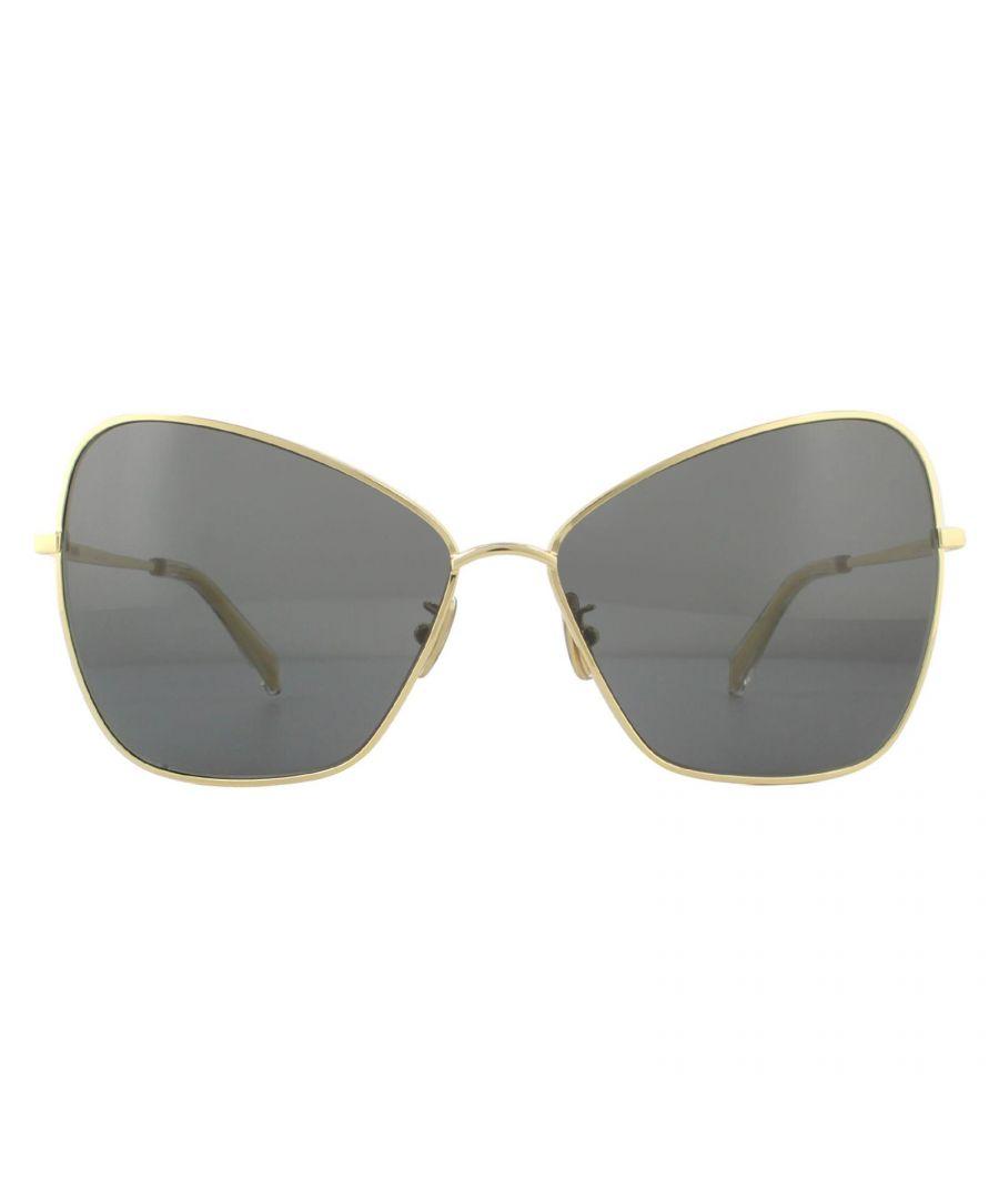 Image for Celine Sunglasses CL40080U 30A Shiny Endura Gold Smoke