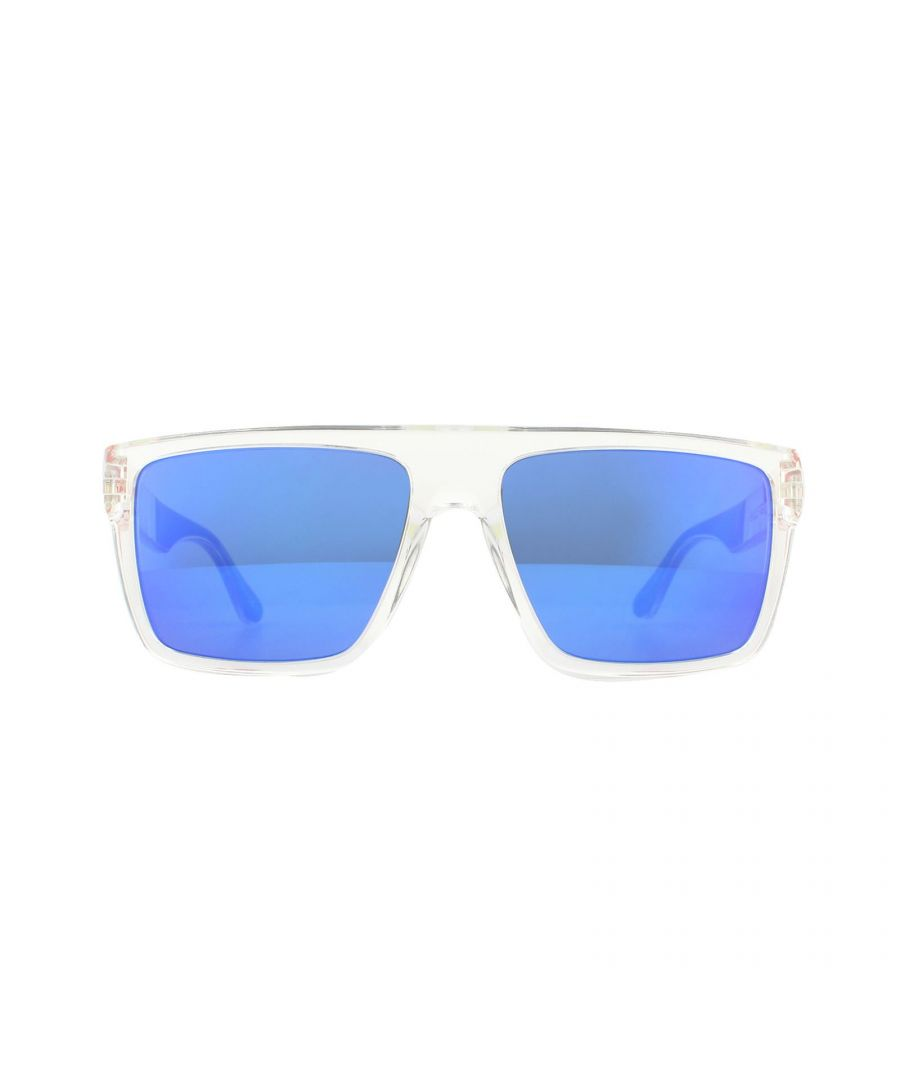 Image for Tommy Hilfiger Sunglasses TH 1605/S QM4 Z0 Crystal Blue Red Blue Mirror