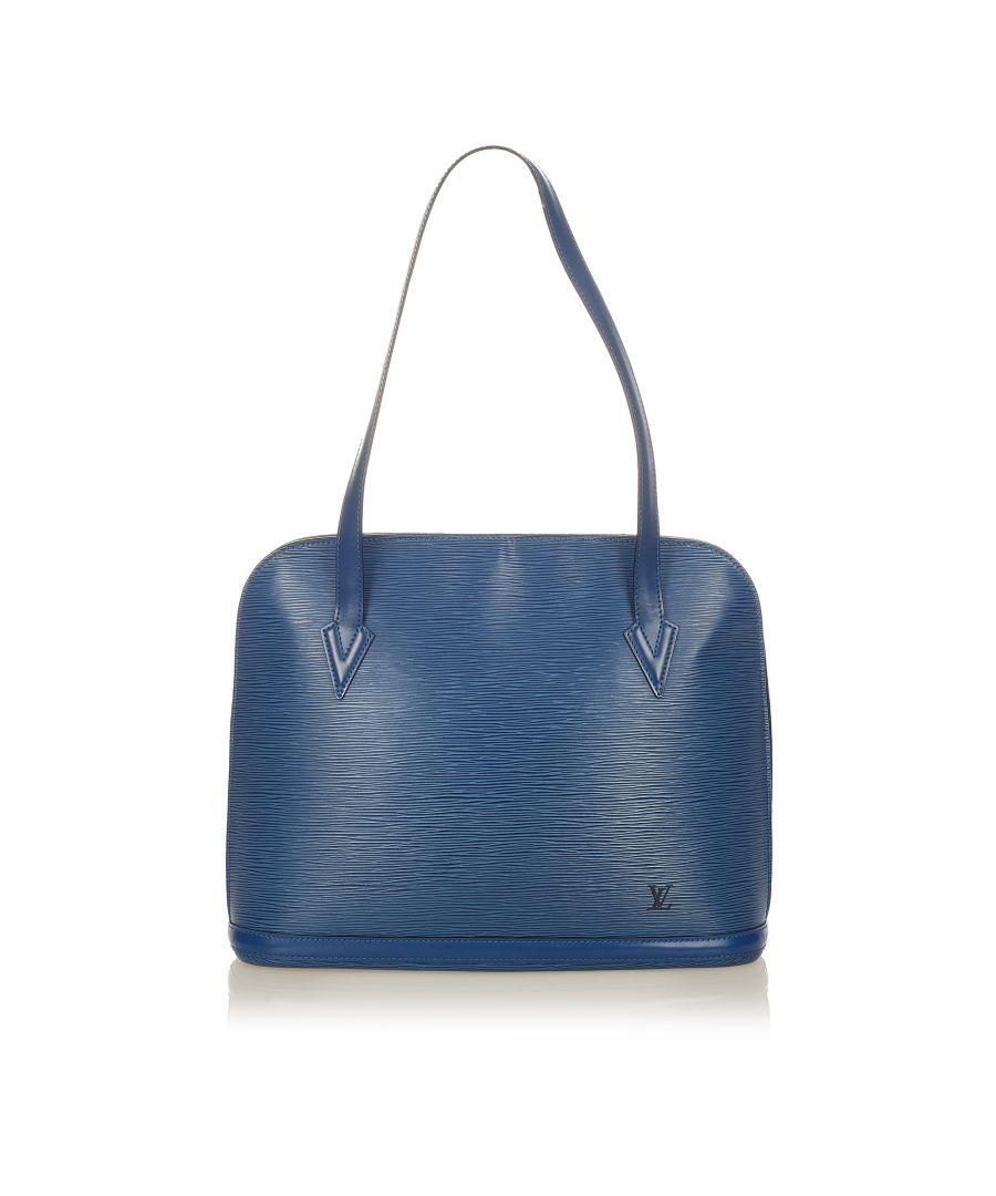 Image for Vintage Louis Vuitton Epi Lussac Blue