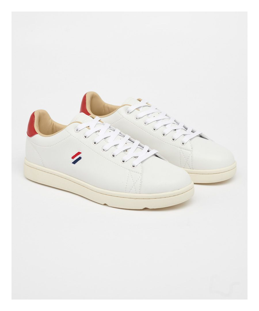 Image for Superdry Vintage Tennis Trainers