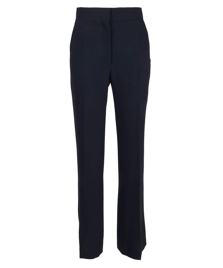 Image for SEE BY CHLOÉ WOMEN'S CHS20SPA020124C3 BLUE POLYESTER PANTS