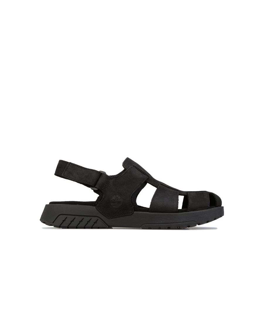 Image for Men's Timberland Anchor Watch Fisherman Sandal in Black