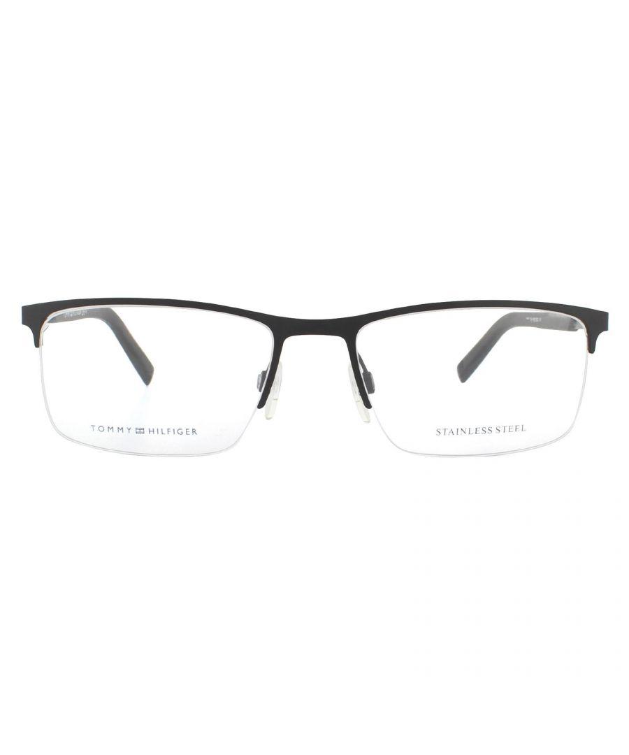 Image for Tommy Hilfiger Glasses Frames TH 1692 BSC Black Grey Men
