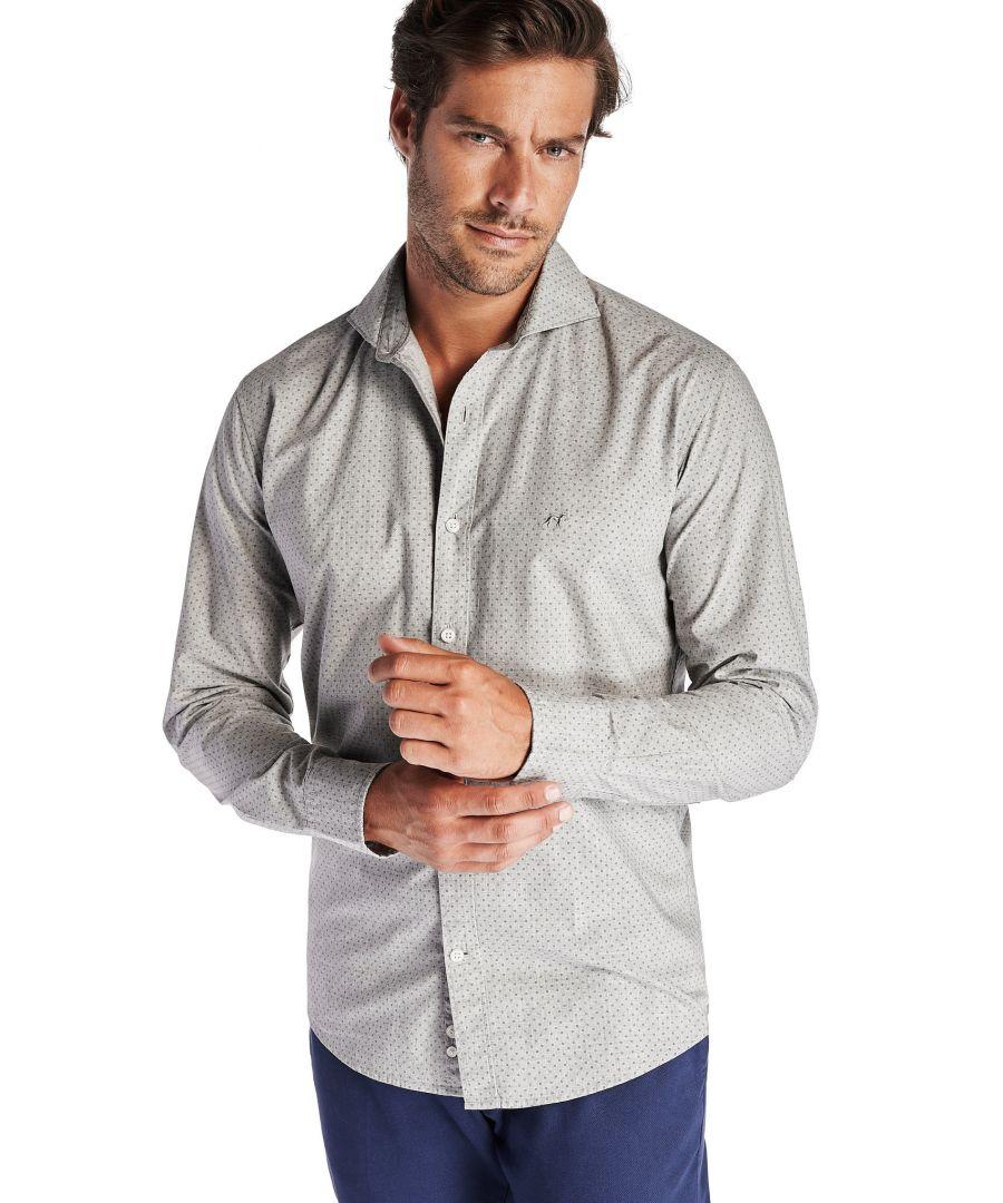 Image for Men s Casual Slim Fit Shirt
