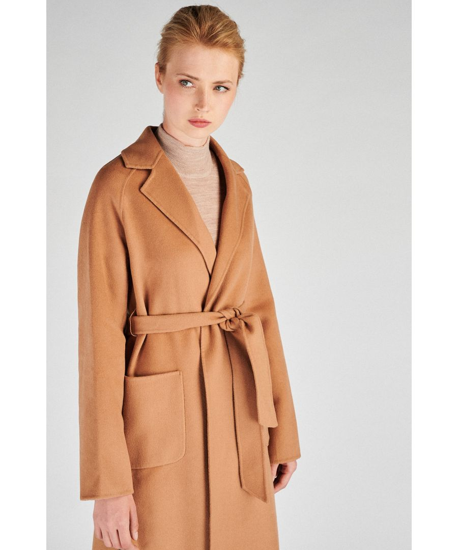 Image for Women s  Casual Overcoat With Belt