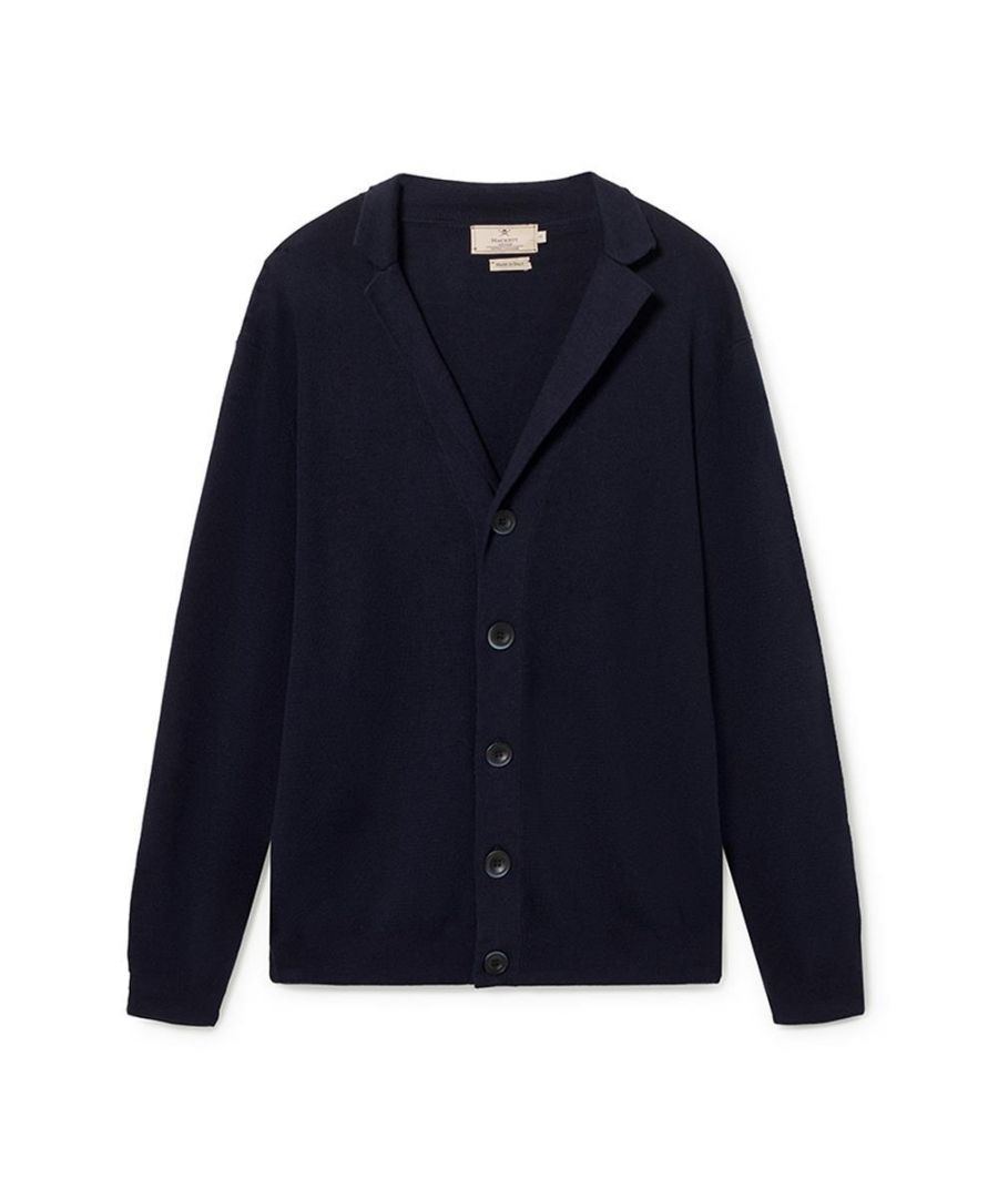 Image for Men's Hackett, Mayfair Blazer with  Buttons in Navy