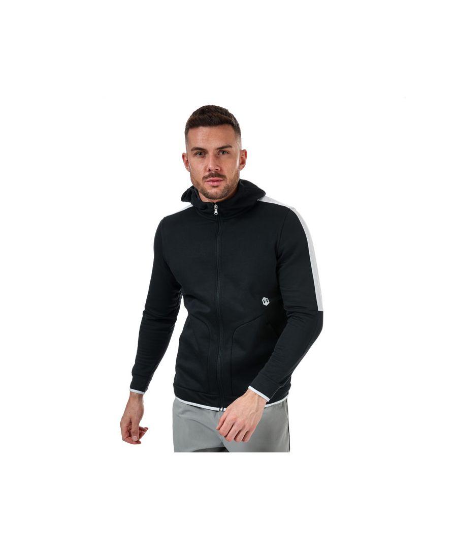 Image for Men's Under Armour Recover Fleece Zip Hoodie in Black