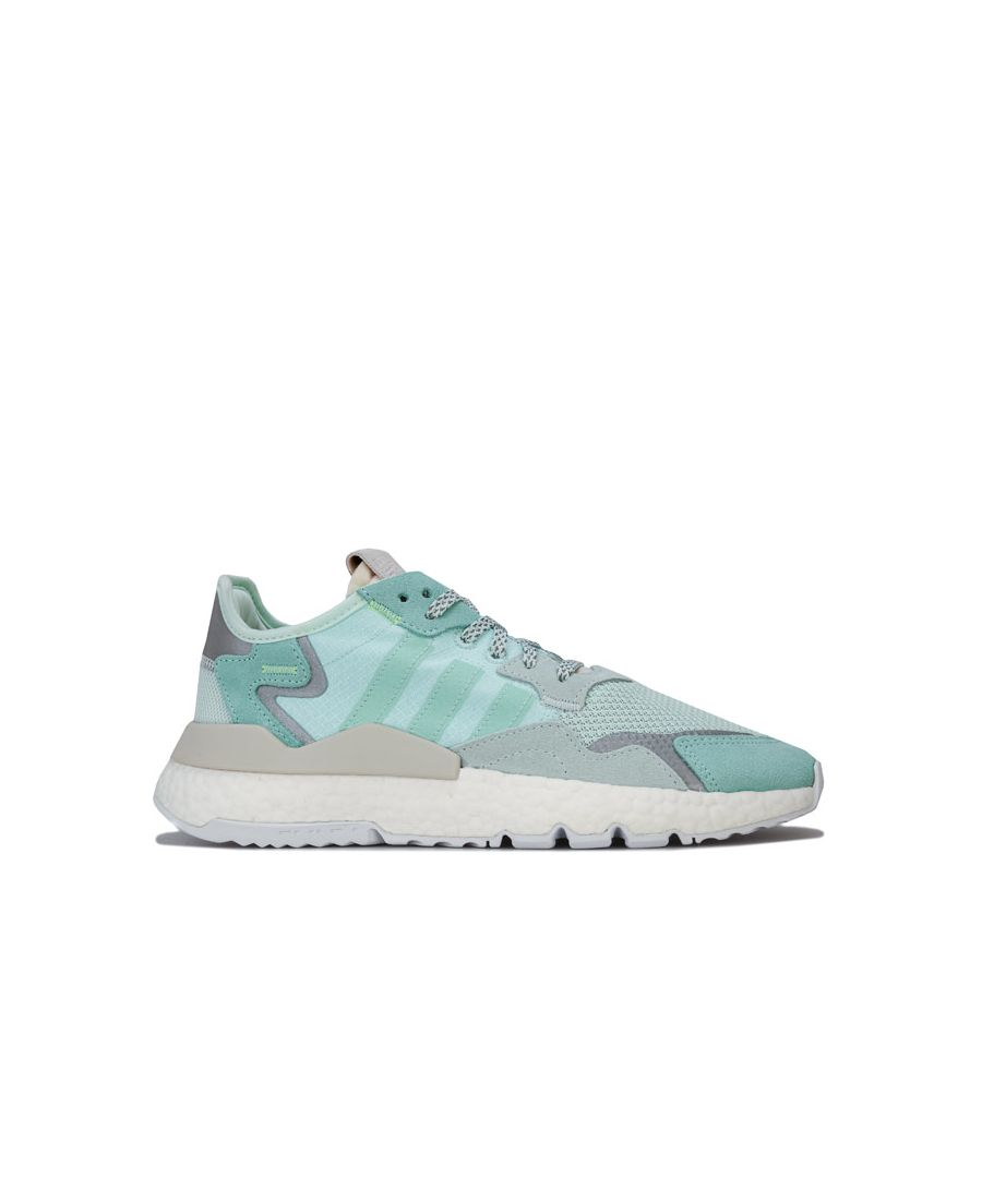 Image for Women's adidas Originals Nite Jogger Trainers in Mint
