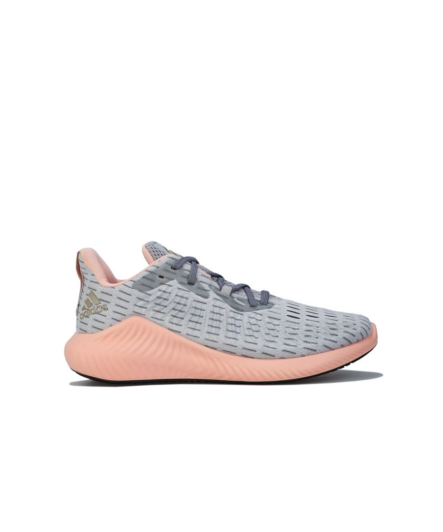 Image for Women's adidas Alphabounce+ Running Shoes in Grey pink