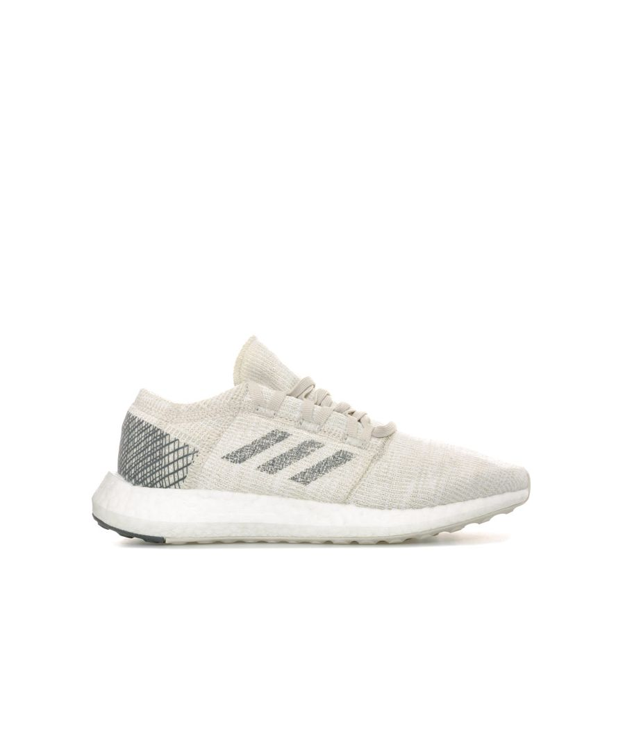 Image for Boy's adidas Junior PureBOOST Trainers in Grey