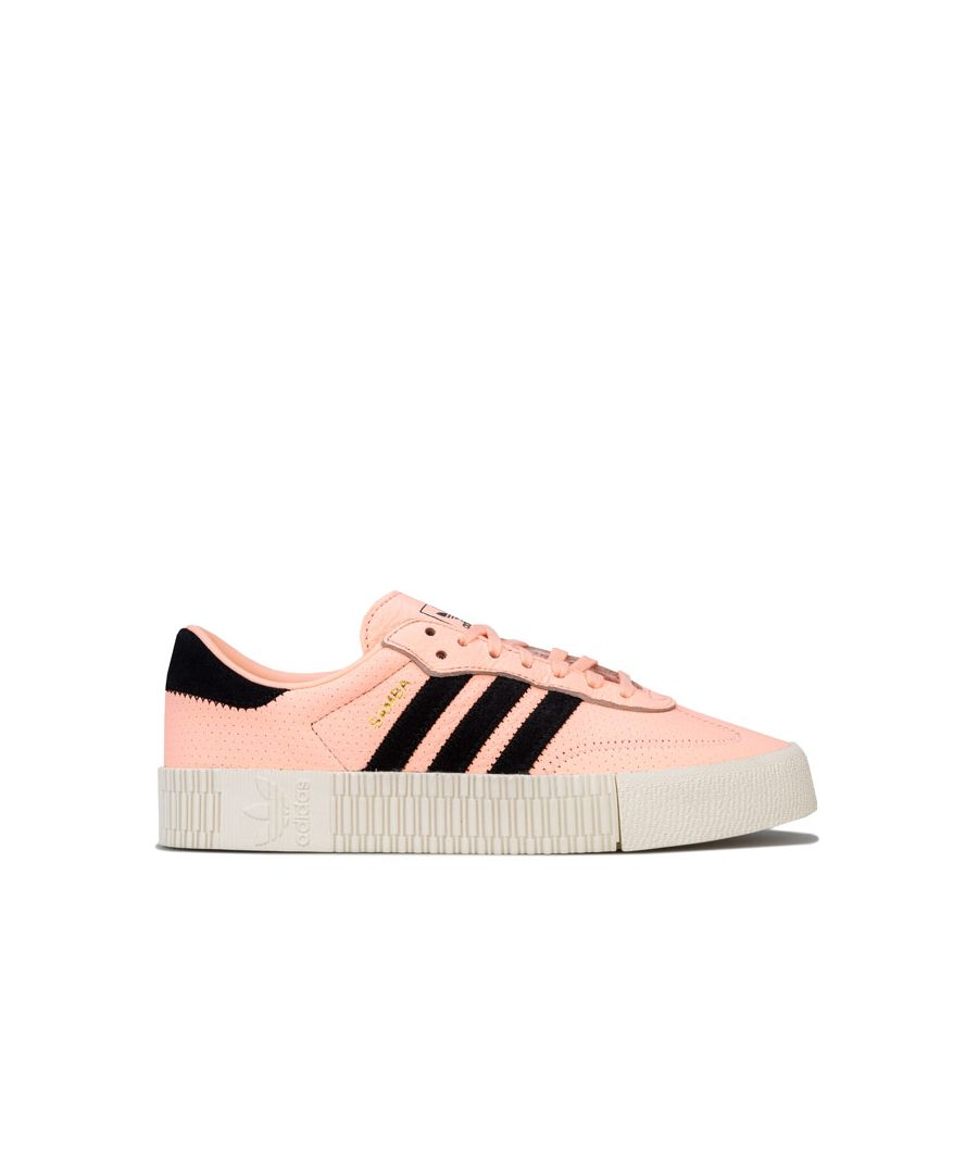 Image for Women's adidas Originals Sambarose Trainers in Peach