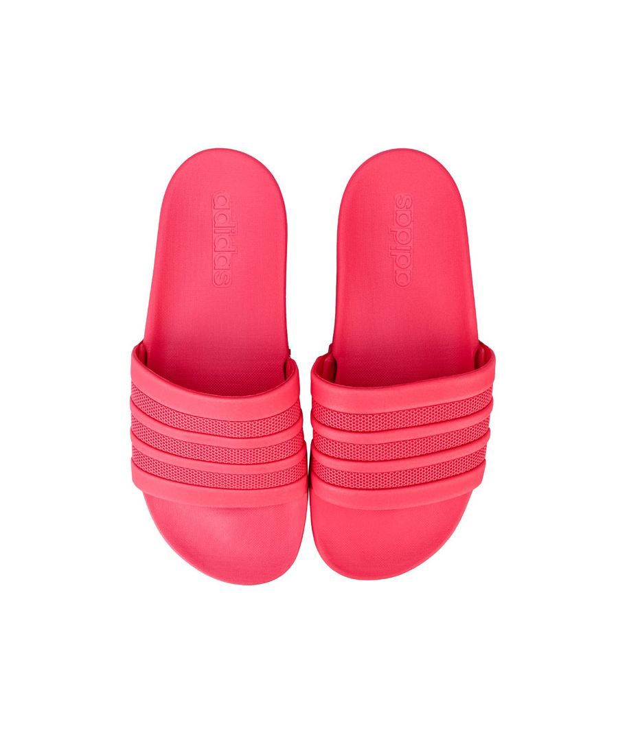 Image for Women's adidas Adilette Comfort Slide Sandals in Pink
