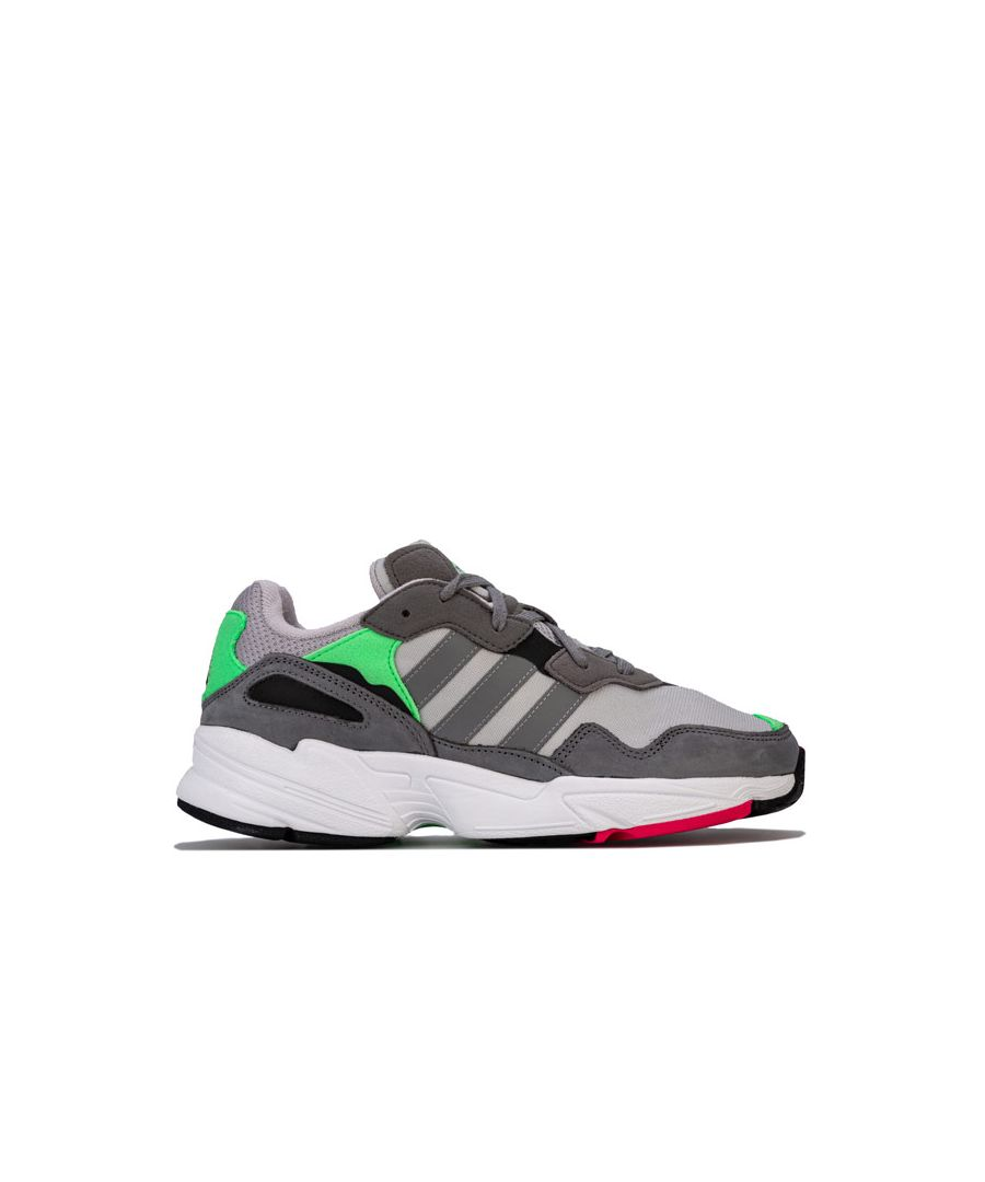 Image for Men's adidas Originals Yung-96 Trainers in Grey