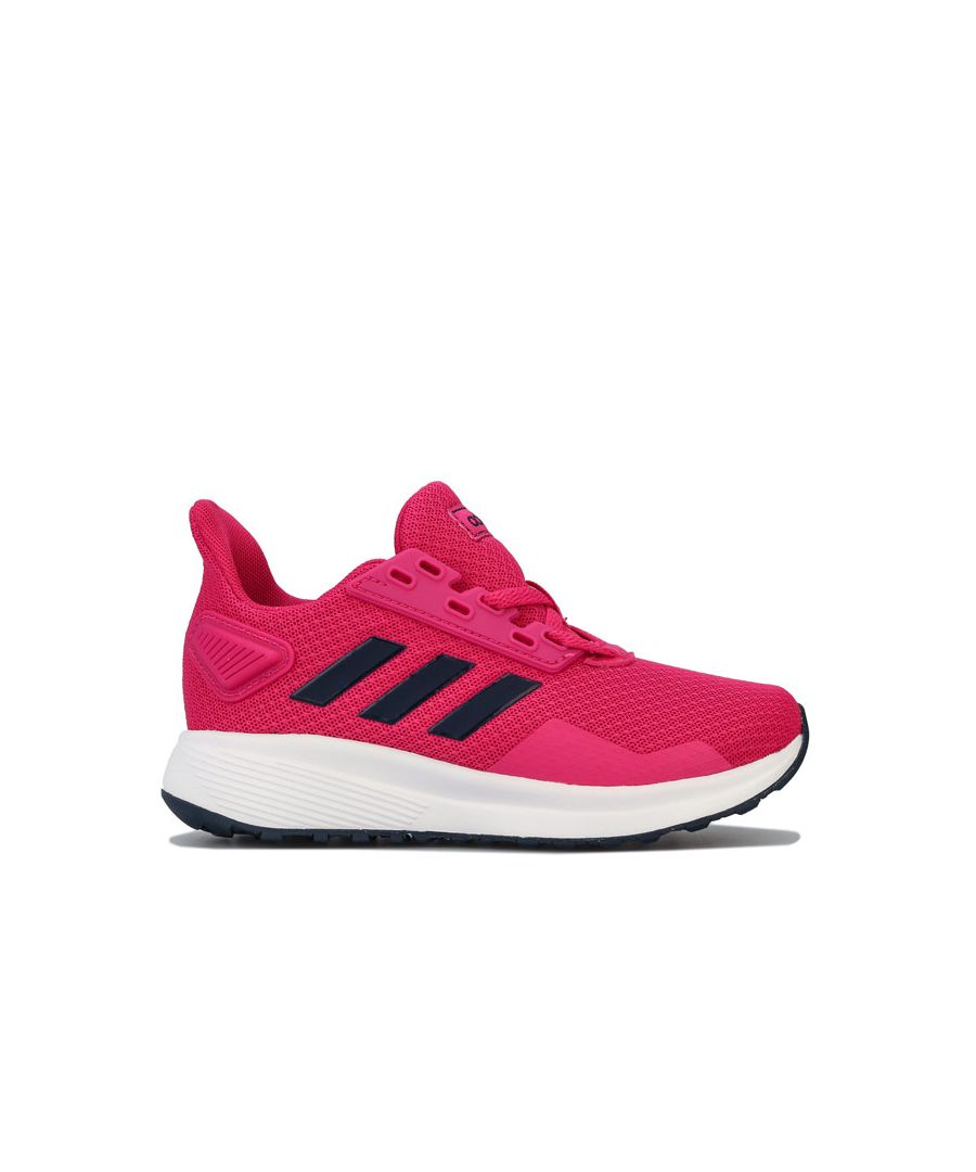 Image for Girl's adidas Junior Duramo 9 Trainers in Pink