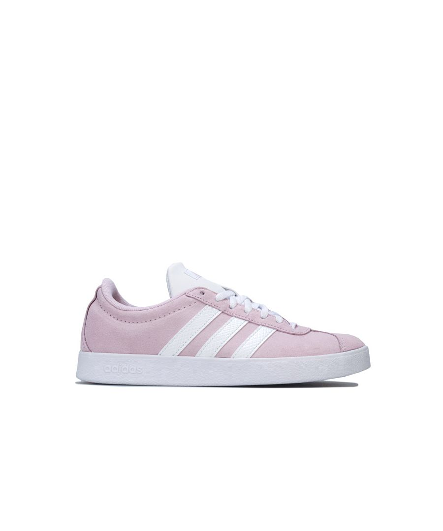 Image for Women's adidas VL Court Trainers in Pink