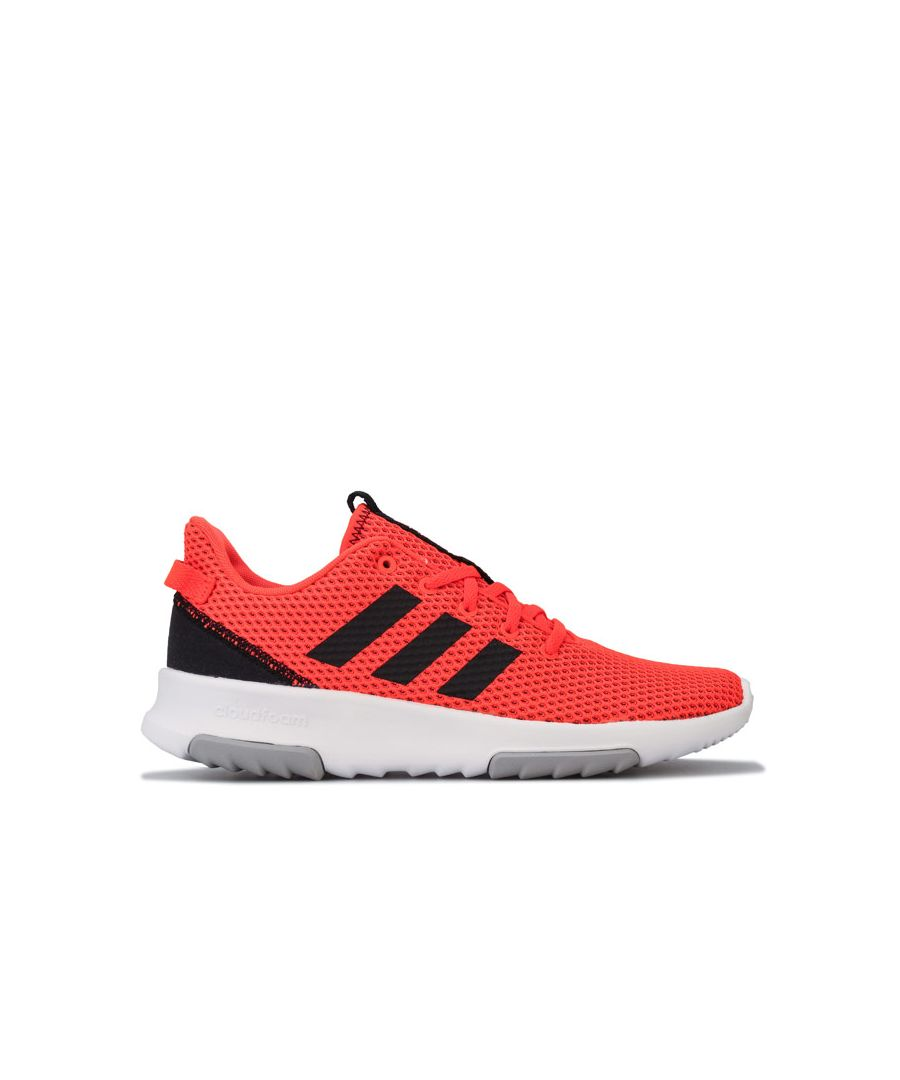 Image for Boy's adidas Junior Cloadfoam Racer TR Trainers in Orange