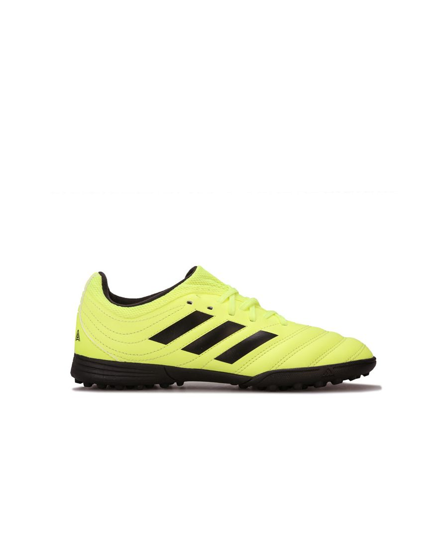 Image for Boy's adidas Junior Copa 19.3 Astro Turf Trainers in Yellow