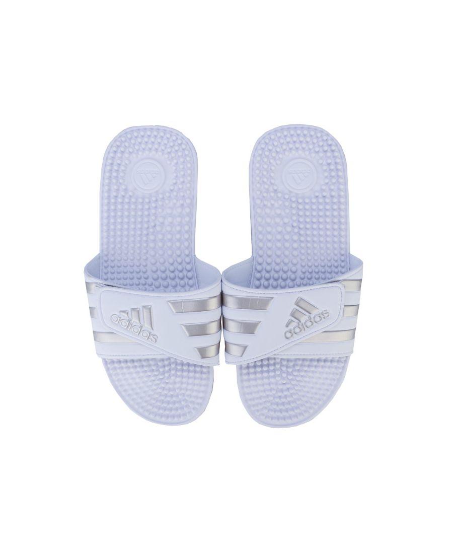 Image for Men's adidas Adissage Slide Sandals in White