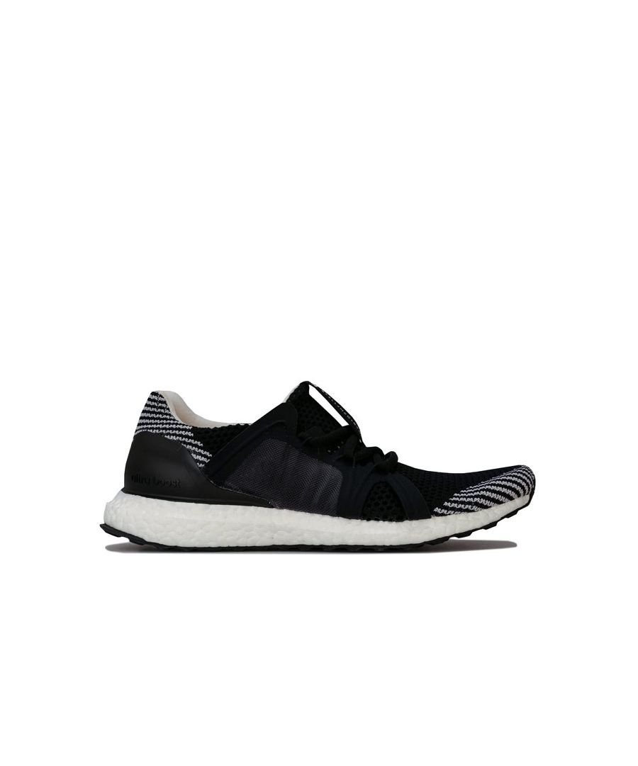 Image for Women's adidas Ultraboost S Running Shoes in Black-White
