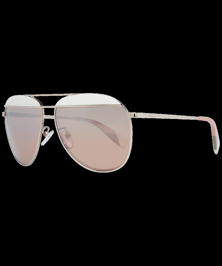 Image for Furla Sunglasses SFU236 0SCG 59 Women Rose Gold