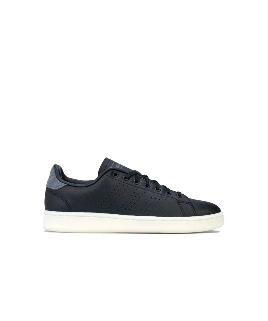 Image for Men's adidas Advantage Trainers in Black