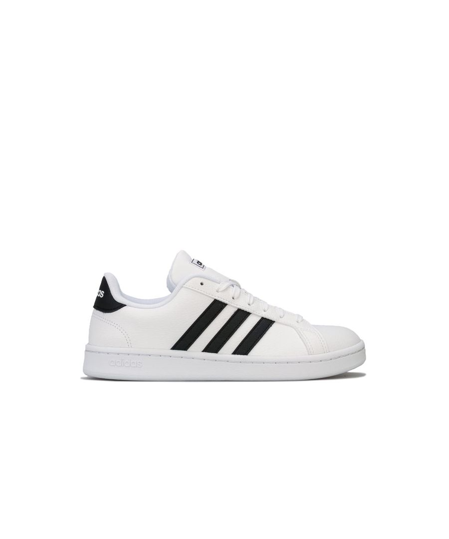 Image for Women's adidas Grand Court Trainers in White Black