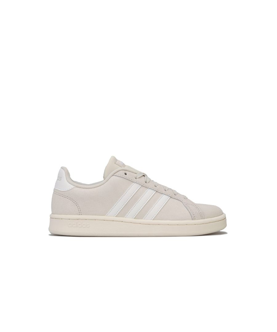 Image for Women's adidas Grand Court Trainers in Off White