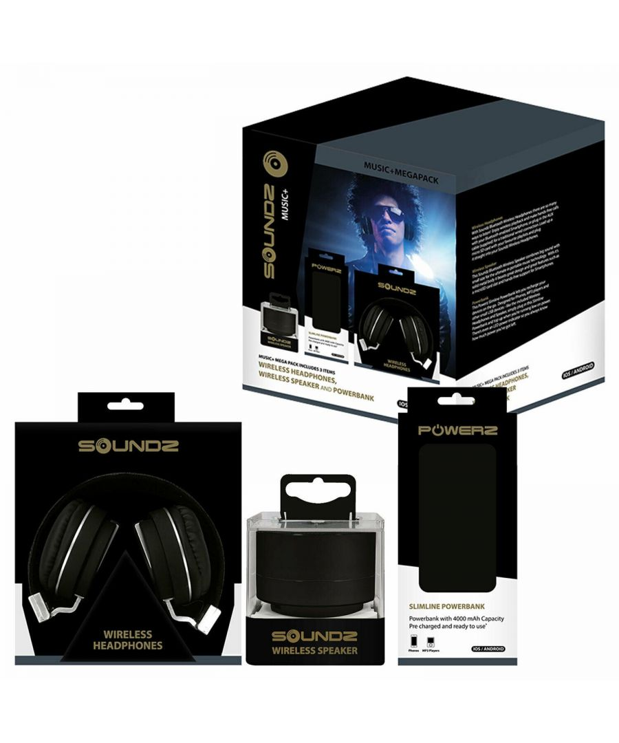 Image for Soundz Audio Bundle Set Black