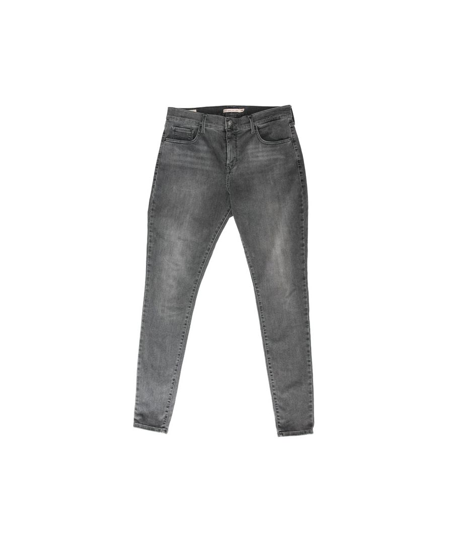 Image for Women's Levi's 310 Plus Shaping Super Skinny Jeans In Grey