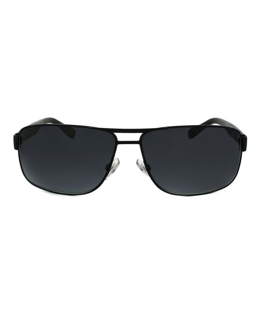 Image for Hugo Boss Sunglasses 0668 10G HD Matt Black Grey Gradient