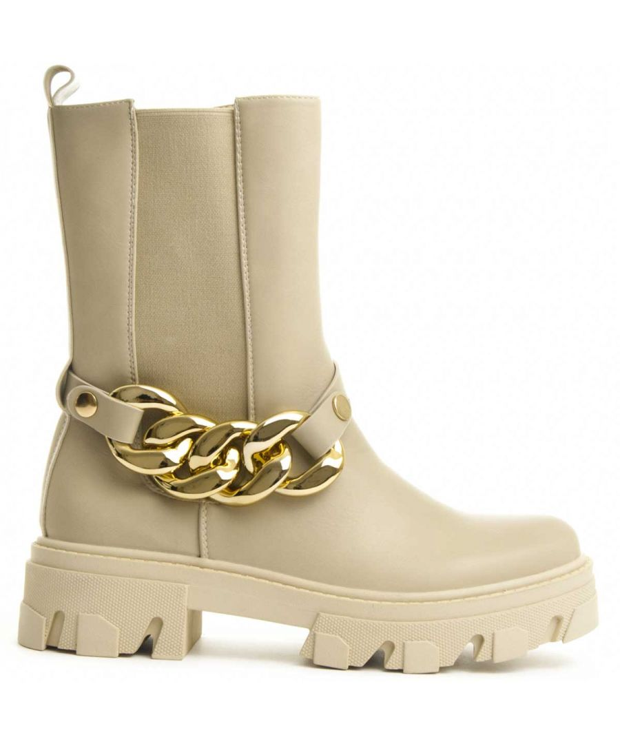 Image for Montevita Ankle Boot in Beige