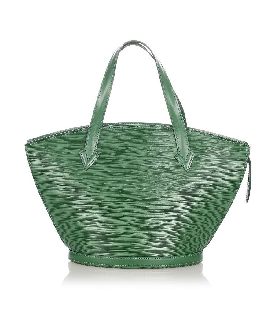 Image for Vintage Louis Vuitton Epi Saint Jacques PM Short Strap Green
