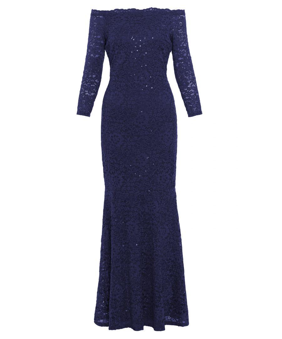 Image for Acilia Lace Maxi Dress