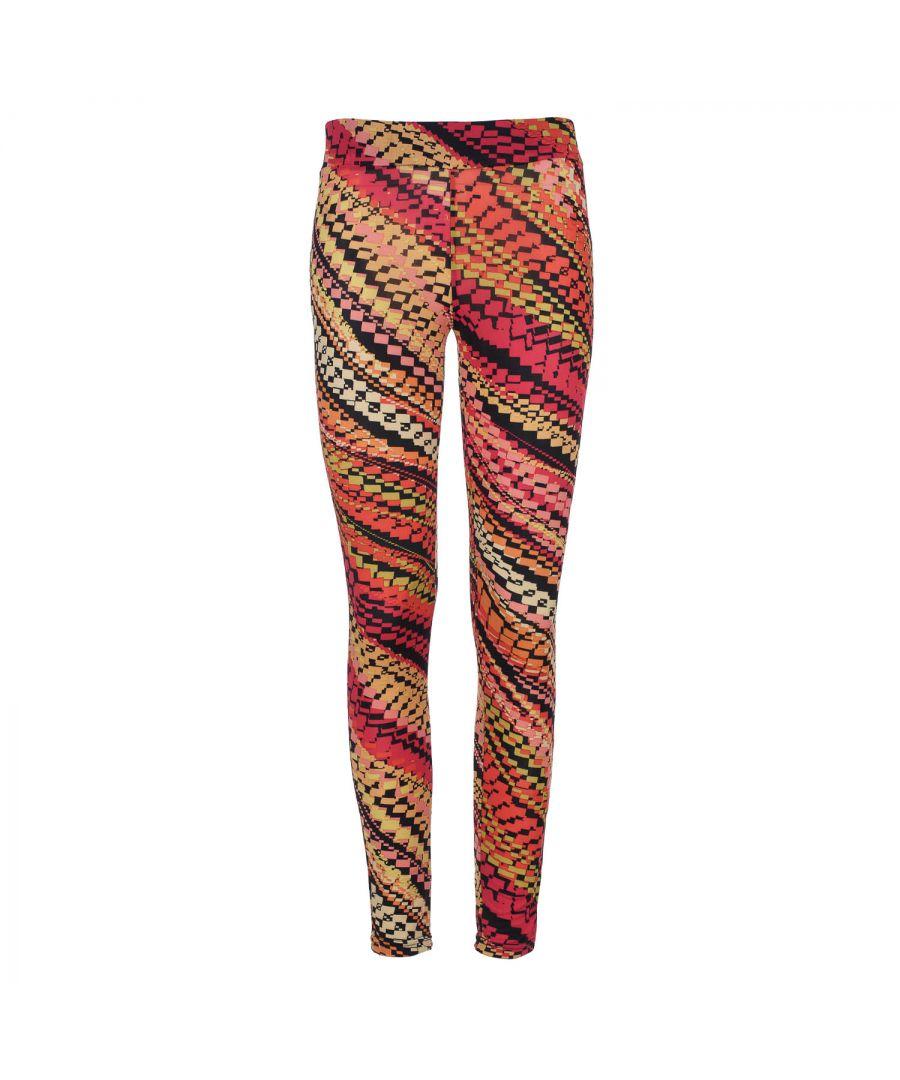 Image for Red Multi-Coloured Print Leggings