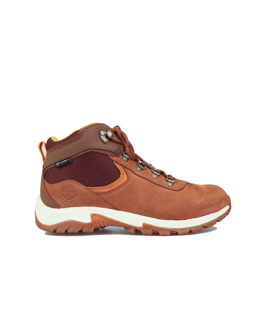 Image for Women's Timberland Mt. Maddsen Mid Waterproof Hiker Boots in Black