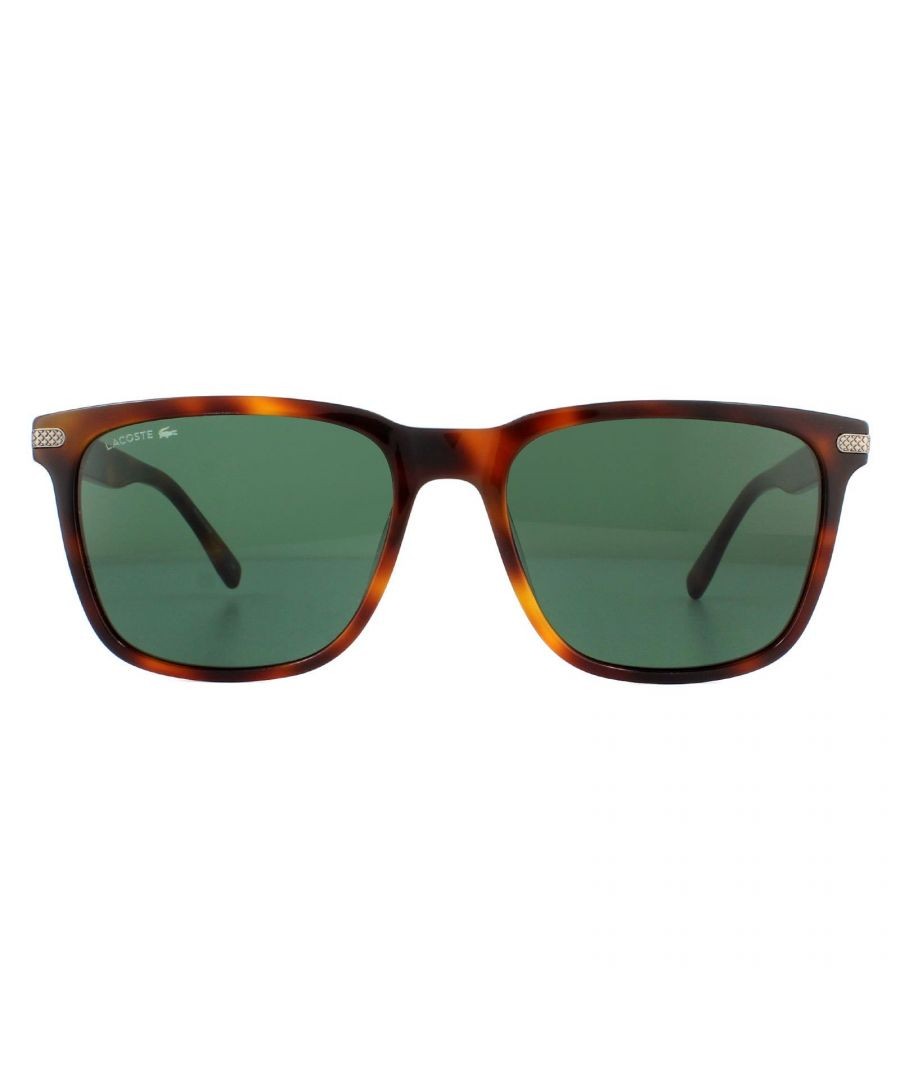 Image for Lacoste Sunglasses L898S 218 Blonde Havana Green