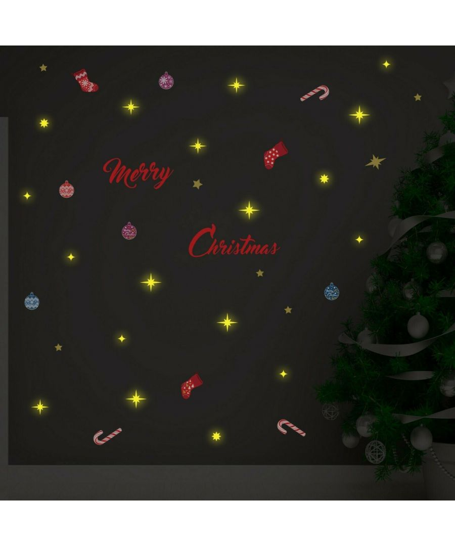 Image for COM- WS3322 - Merry Christmas + WS3036 - Moon & Stars Glow