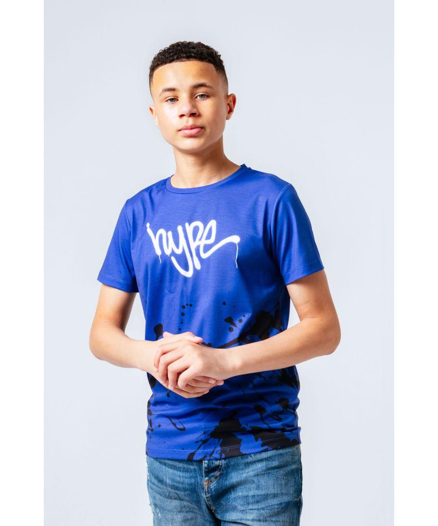 Image for Hype Blotch Fade Kids T-Shirt