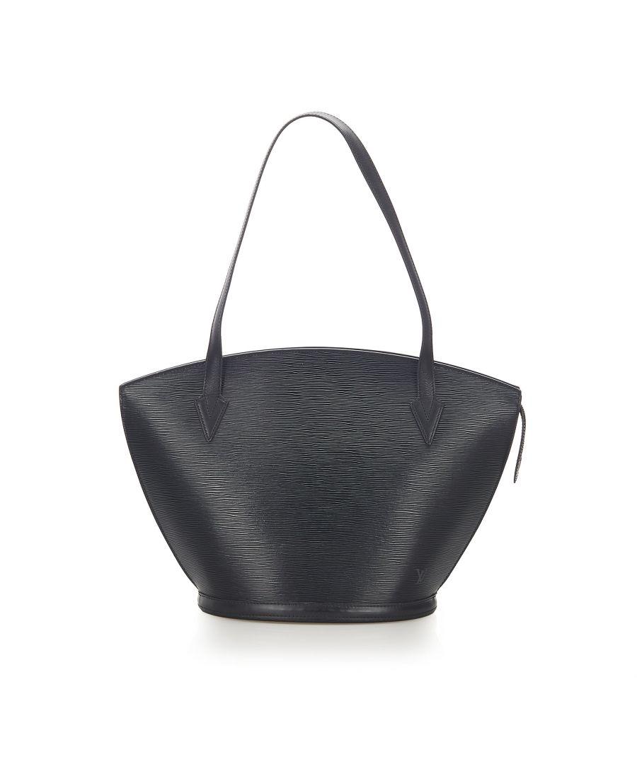 Image for Vintage Louis Vuitton Epi Saint Jacques PM Long Strap Black