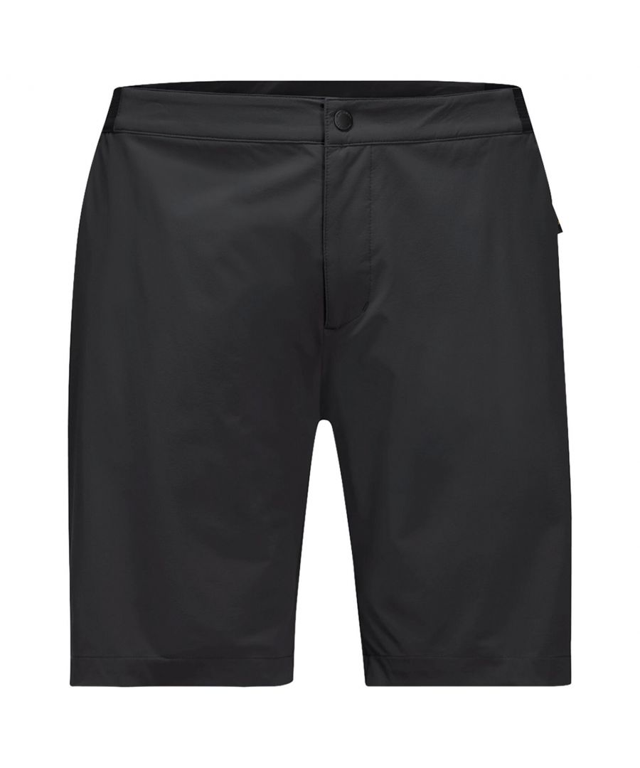 Image for Jack Wolfskin JWP Mens Softshell Short Black - M