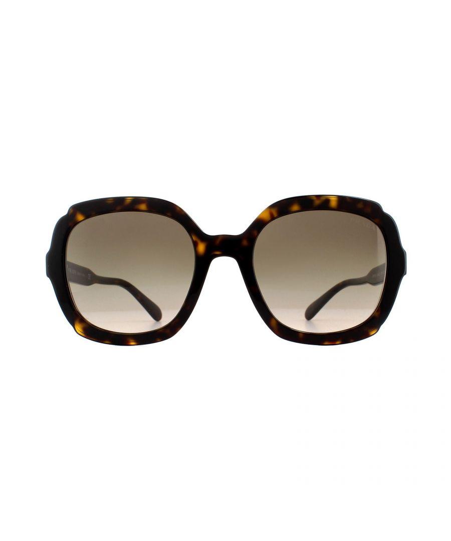Image for Prada Sunglasses PR 16US 3913D0 Havana Black Grey Gradient