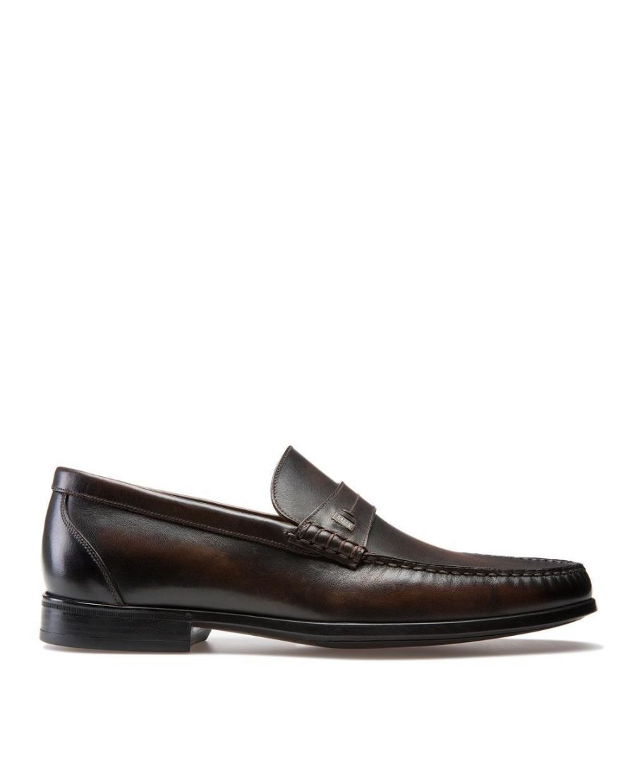 Image for Bally Mens Moccasin Slip On in Brown