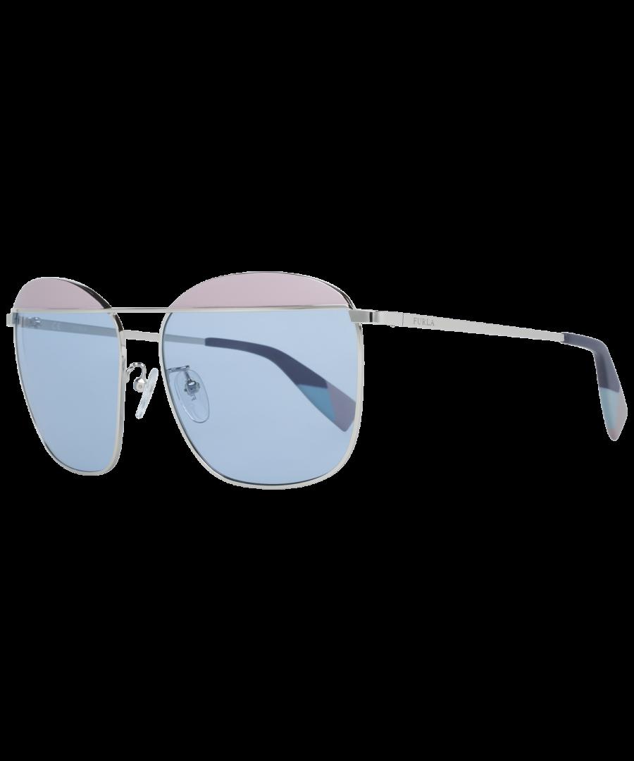 Image for Furla Sunglasses SFU237 0523 59 Women Silver