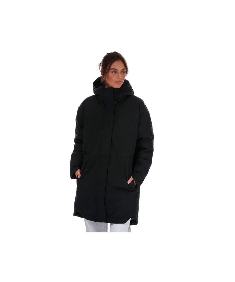 Image for Women's adidas Traveer Insulated RAIN.RDY Parka Jacket in Black