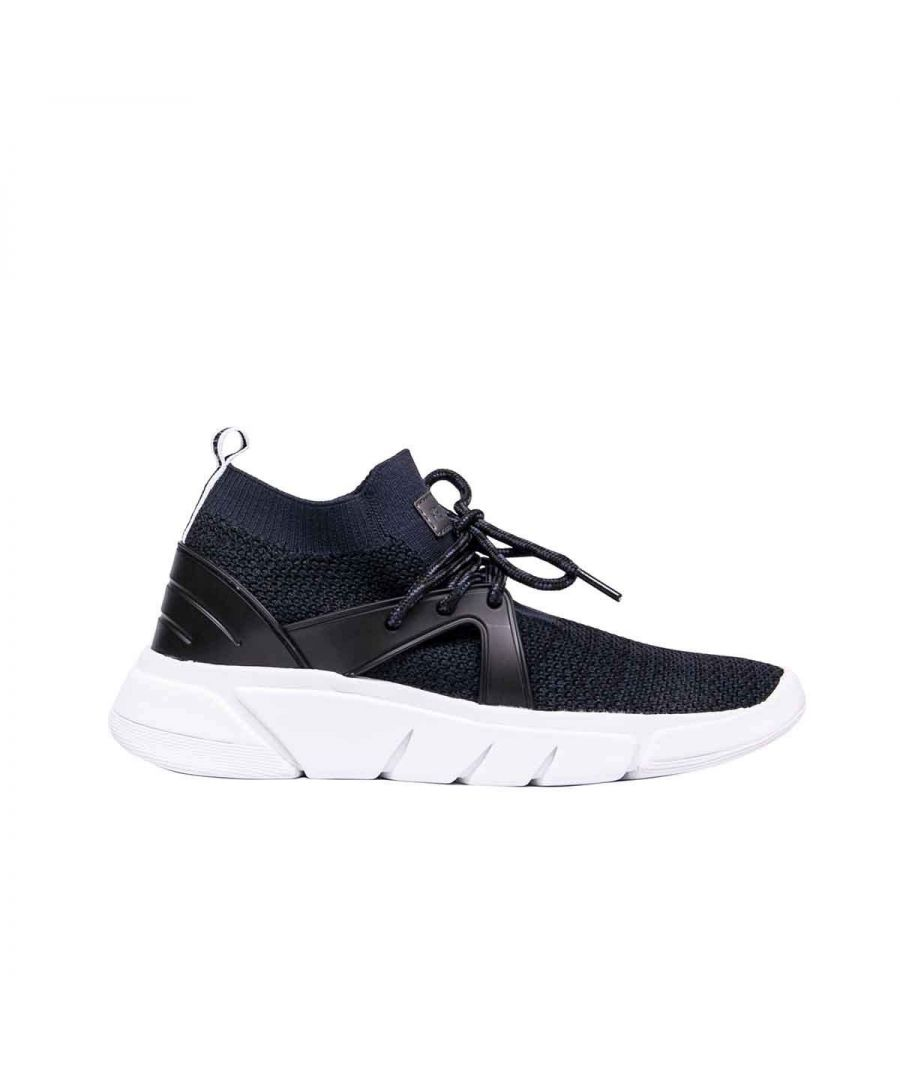 Image for KENDALL + KYLIE WOMEN'S KKCONQUER02 BLACK FABRIC SNEAKERS