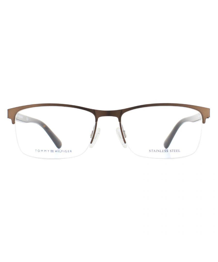 Image for Tommy Hilfiger Glasses Frames TH 1528 09Q Brown Havana