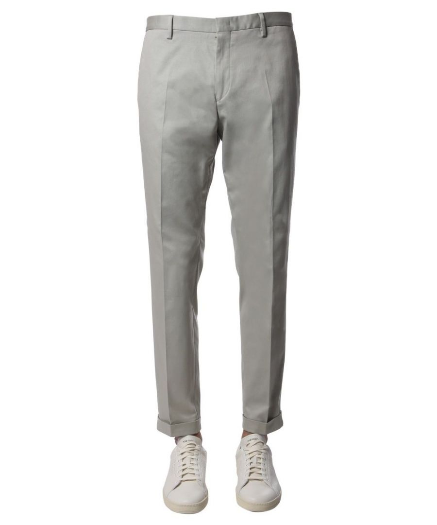 Image for PAUL SMITH MEN'S M1R150MD0003160 GREY COTTON PANTS